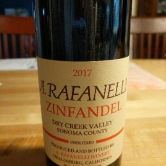 Zinfandel, A. Rafanelli, Dry Creek Valley 2017